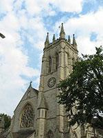 会場のある教会